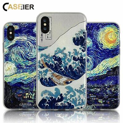 Starry Night Phone Case For iPhone 6 6s Soft TPU Silicone For iPhone 5s 7 8 Plus