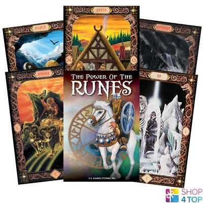 Power Of The Runes Cards Deck Esoteric Thomas Vomel Us Games Systems New