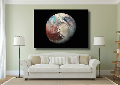 Funny Astronaut Space Earth Large CANVAS Art Print A0 A1 A2 A3 A4