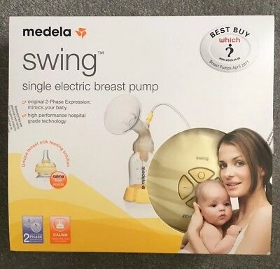 medela swing electric breast pump with calma plus free 40ml HPA Lanolin Ointment