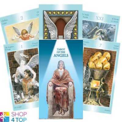 Tarot Of The Angels Deck Cards Esoteric Fortune Telling Lo Scarabeo New