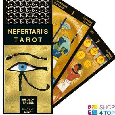 Nefertari's Tarot Deck Cards Esoteric Fortune Telling Lo Scarabeo New
