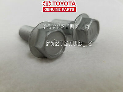 2X GENUINE DISC Brake Caliper Bolt 94-10 for Toyota Tacoma