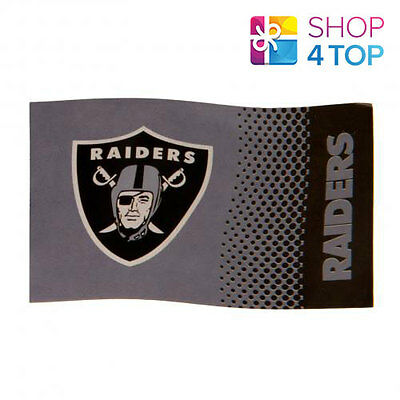 Oakland Raiders Official American Football Club Team Nfl Large Gray Flag New