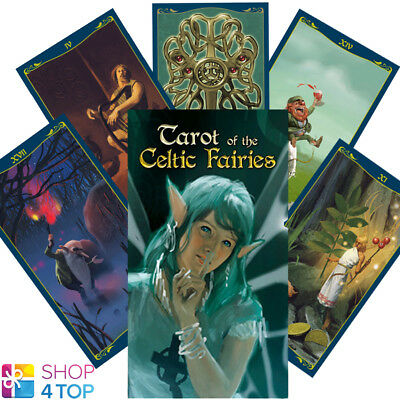Tarot Of The Celtic Fairies Deck Cards Esoteric Fortune Telling Lo Scarabeo New