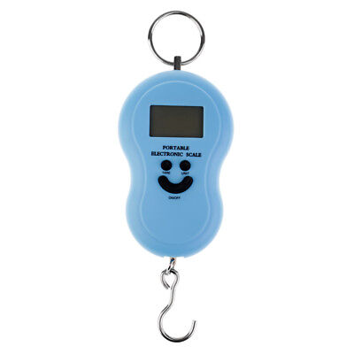 110lb/50kg Hanging Scale Luggage Digital BackLight Fishing Pocket Weight