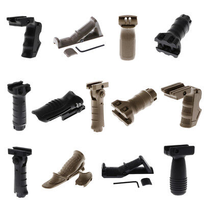 Tactical Vertical Grip Front Grip Forward Foregrip for Picatinny Front Rail