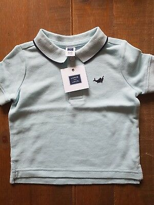 Boys Janie and Jack polo shirt 3-6 months