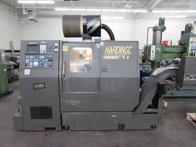Hardinge Conquest T42SP CNC Turning Center w/Live Milling and Sub-Spindle