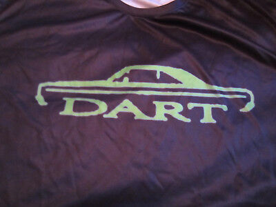 Awesome DODGE DART T-shirt *X-Large size *dyed/printed *Athletic style *MOPAR