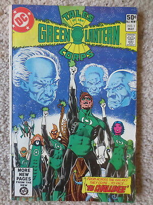 1981 Vintage Green Lantern Corps Comic Book  Issue #1 May D C Comics