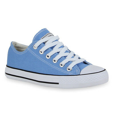 MUST-HAVE DAMEN Andy`Z SCHUHE 53133 SNEAKERS HELLBLAU 38 STYLISCH