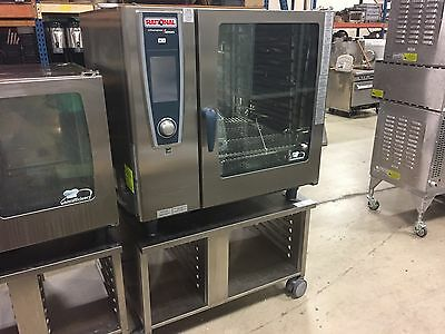 Never Used 2015 Rational SCCWE102G Model Gas Combi Oven w/ 1 Y Factory warranty