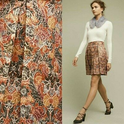 d7e5d25bd0 MAEVE ANTHROPOLOGIE FLORAL Pleated Rosie Skirt size XS - $20.00 ...