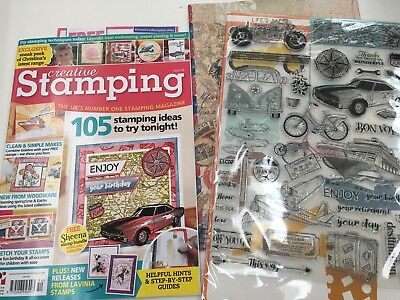 Creative Stamping Issue 54 2018 - Includes Life's an Adventure Stamp Set & Paper