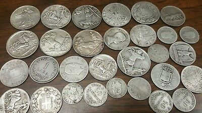 Old Italy Silver Coins Collection**** All Silver Lot