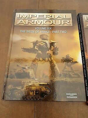 Warhammer 40K Imperial Armour 6, Forgeworld, out of print
