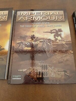 Warhammer 40K Imperial Armour 7, Forgeworld, out of print