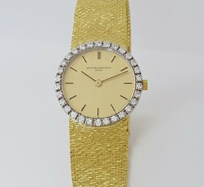1950's 18k Gold & Diamond Vacheron & Constantin Watch Ref. 6740 Calibre 1003