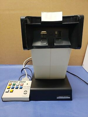 Stereo Optical OPTEC 2500 Vision Tester  Ophthalmology & Optometry