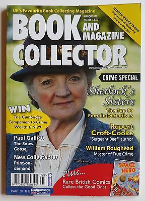 BOOK & MAGAZINE COLLECTOR #318 -  3/2010 - William Roughead, Rupert Croft-Cooke
