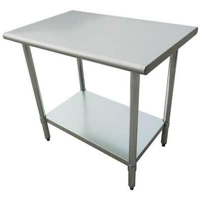 "Stainless Steel Work Prep Table 24"" x 24"" Heavy Duty"