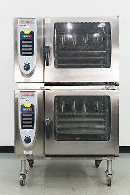 Used Rational SCC 62 Double Deck Electric Combi Oven-Steamer