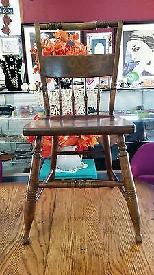 S. Bent & Bros. Spindle Back Chair - Unique - Dining Room - Lovely Piece!