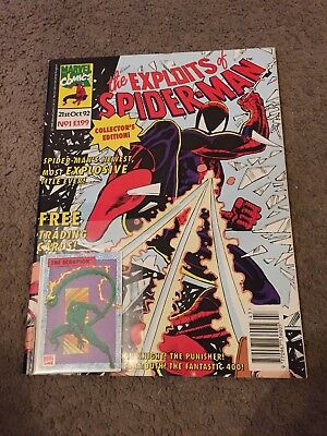 The Exploits of Spider-Man collectors edition #1