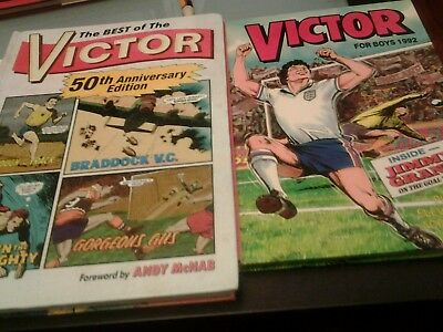 2 Victor books for boys