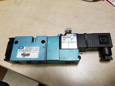 new MAC Model 811C-PM-224JB-152 Pneumatic Solenoid Valve