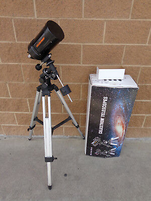 "Celestron G-5   #11050  5""  Telescope w/ Box --Missing Drive Controller--"