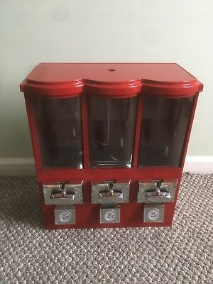 Three Head Bulk Candy Vending Machine