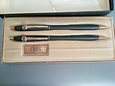 Cross Pen and Pencil  Mountain Dew Pen Set  No.2501 Classic Black with Box