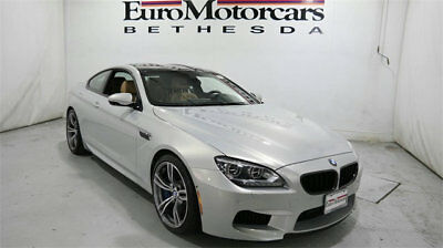 BMW M6 2dr Coupe bmw m6 coupe 4.4l v8 13 14 15 used navigation moonstone silver executive premium