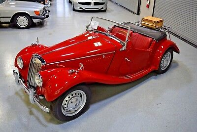 1954 MG T-Series  how Quality 1954 MG TF Roadster Complete Restoration Great Ownership History