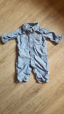 3/6 month unisex Baby Gap denim