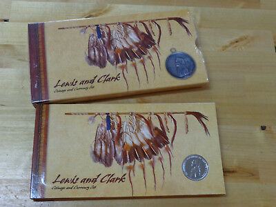 2004 Lewis and Clark Coinage and Currency Set US Mint Commemorative Coins