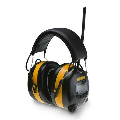 DEWALT DPG15 Digital AM/FM Radio Earmuffs