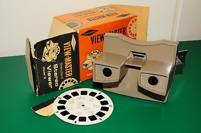 visore VIEW MASTER SAWYER'S - model G - made in Belgium - con scatola