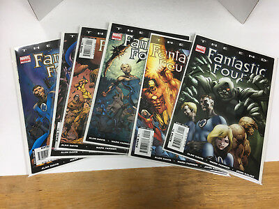 Fantastic Four The End complete mini series by Alan Davis #1-6 MARVEL VF+ to NM
