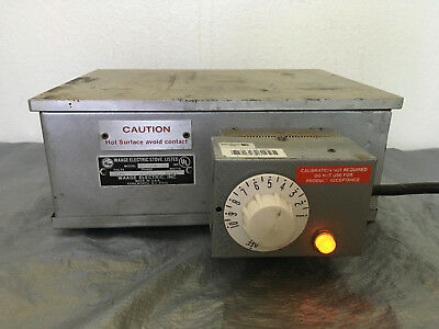 Waage Electric Stove 912-5-1 Industrial Commercial Hot Plate 115V 1200W