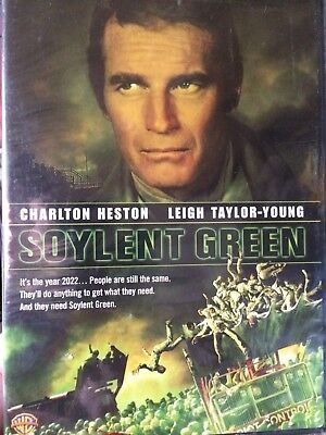 Soylent Green DVD CHARLTON HESTON LEIGH TAYLOR-YOUNG HARD TO FIND DVD NEW