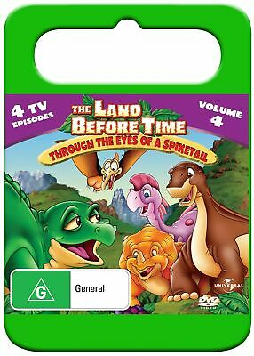 The Land Before Time Through the Eyes of a Spiketail Volume 4 DVD Region 4 NEW