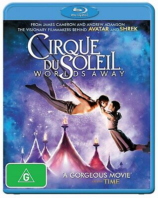 Cirque Du Soleil Worlds Away 3D Edition with 2D Edition Blu-ray Region B NEW