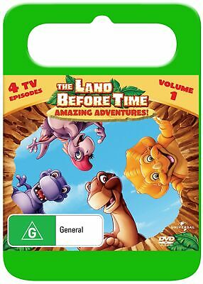 The Land Before Time Amazing Adventures DVD Region 4 NEW