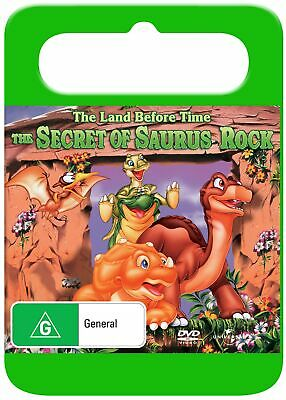 The Land Before Time 6 The Secret of Saurus Rock DVD Region 4 NEW