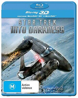 Star Trek Into Darkness 3D Edition with 2D Edition Blu-ray Region B NEW