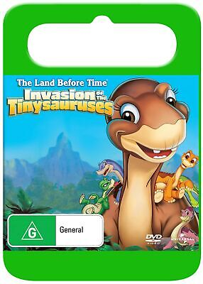 The Land Before Time 11 Invasion of the Tiny Sauruses DVD Region 4 NEW