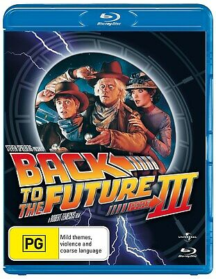 Back to the Future Part 3 Blu-ray Region B NEW